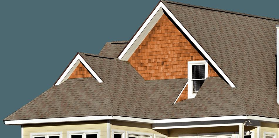 Shingle Roof House