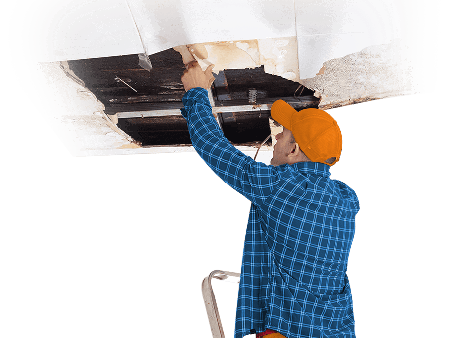 Water Damage in Ceilings Can Be Repaired
